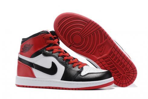 Retro Basketball Shoes Red Black White
