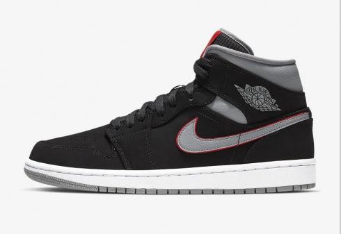 Nike Air Jordan 1 Black White Gym Red