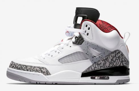 Air Jordan Spizike White Cement Varsity