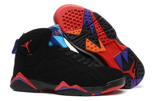 jordan 7 black and red