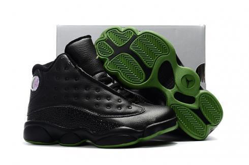 purchase cheap e25f9 f1293 Nike Air Jordan XIII 13 Retro Kid black green basketball Shoes 310004-001