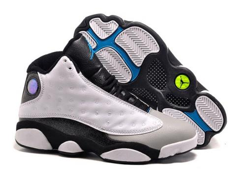 326f9e4d56dc9 Nike Air Jordan XIII 13 Retro Kid white red basketball Shoes 414571-103  Item No. 414571-103