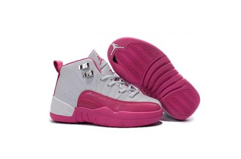f3145fef4d4f94 Prev Nike Air Jordan 12 Retro GP Dynamic Pink Girls Pre School Vivid Pink  510816 109