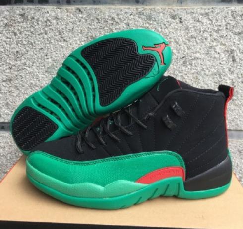 Nike Air Jordan XII 12 Black Green Red