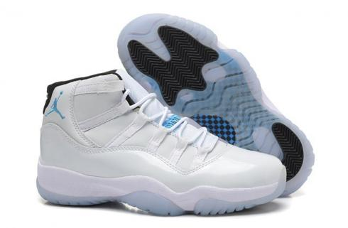 Nike Air Jordan 11 Retro Xi Legend Blue Columbia Men Women Shoes