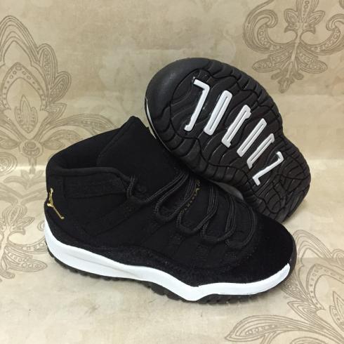 Nike Air Jordan XI 11 Retro black white Kids Shoes