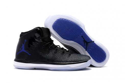 Nike Air Jordan XXXI 31 Black Blue White Men Basketball Shoes 845037-002