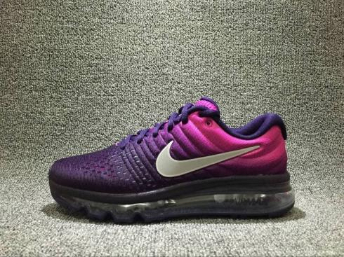 Nike Air Max 2017 Purple Dark Womens Reflective Shoes 851623-500