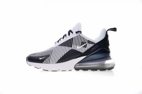 Nike Air Max 270 Black Grey White Ice Blue AO1023 993