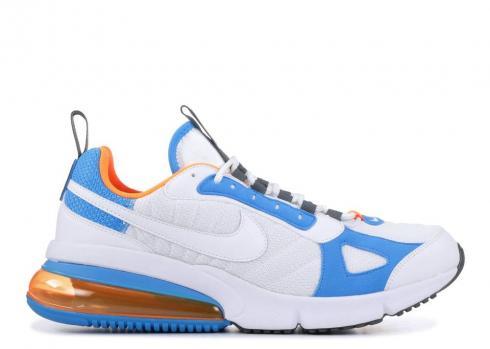 Nike Air Max 270 Futura White Orange Blue Total Heron Ao1569 100