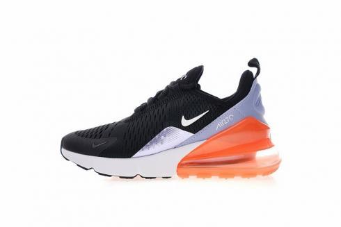 Nike Air Max 270 Gs Light Blue Black Orange 943346 004 Sepsale