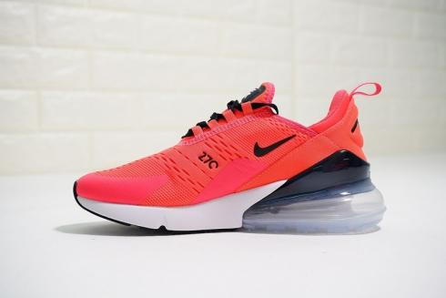 Nike Air Max 270 Id Hyper Pink Black White Running Shoes Bq0742