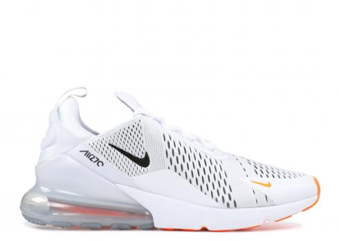 Nike Air Max 270 Just Do It Orange White Total Black AH8050-106