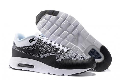 huge discount feef9 a90e1 Prev Nike Air Max 1 Ultra Flyknit White Black Oreo NEW DS NSW Running Shoes  HTM 843384