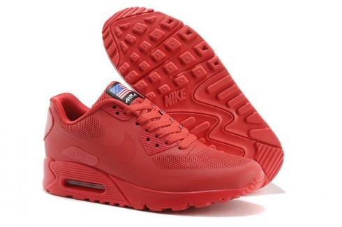 Nike Air Max 90 Hyperfuse QS Sport Red July 4TH Independence Day 613841 660