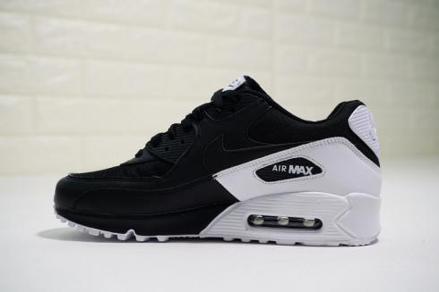 Nike Air Max 90 Essential Black White Casual Sneakers 537384 082