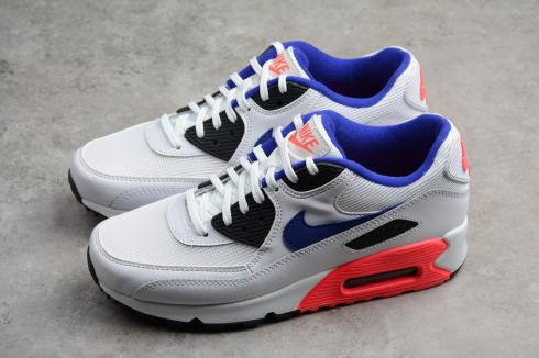 Nike Air Max 90 Essential Red White Athletic Sneakers