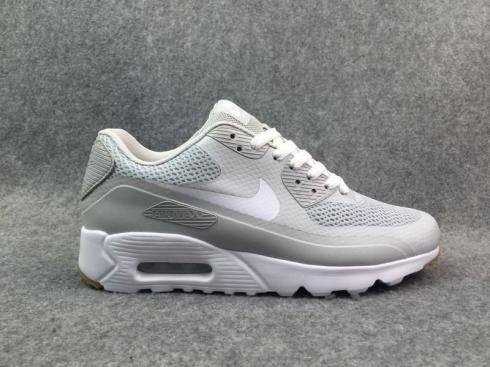 Nike Air Max 90 Ultra 2.0 Essential White Light Grey University 819474 005