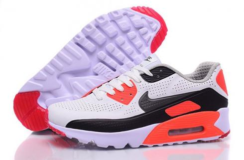 Nike Air Max 90 Ultra Moire White Black Red Men Running Shoes