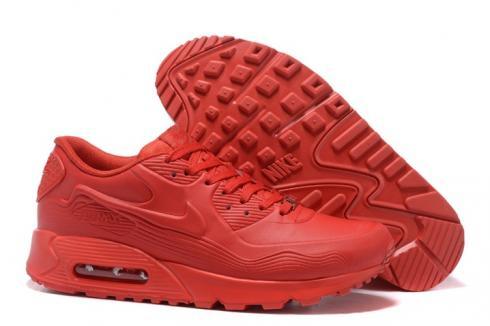 Nike Air Max 90 VT QS Men Running Shoes UNC Total University Red 813153-110