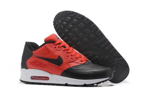 Nike Air Max 90 Premium SE black red Men running shoes 858954 002