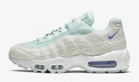 Nike Air Max 95 Teal Tint Summit White Royal Pulse 307960-306