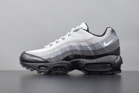 Nike Air Max 95 Essential Wolf Grey Black Green Men Shoes