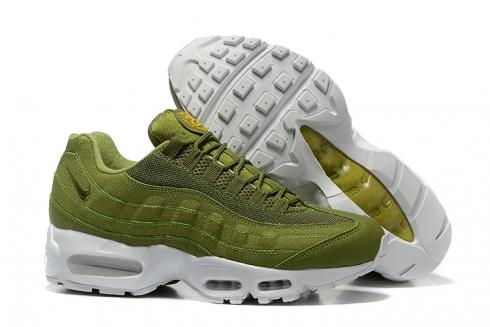 Nike Air Max 95 x Stussy Dark Olive Green Men Running Shoes 834668-337