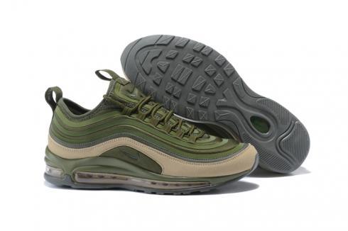 Nike Air Max 97 UL 17 SE Men Running Shoes 97 Ultra Camo Green 924452 300