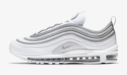 Nike Air Max 97 White Wolf Grey Reflect Silver 921826 105