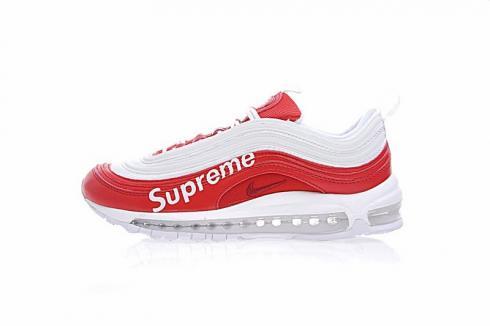 Supreme X Nike Air Max 97 Sup Red White Aj1986 020 Sepsale
