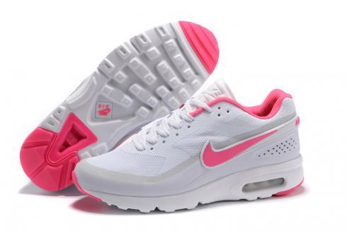 Nike Air Max BW Ultra Big Window GS Women Running Shoes Pure White Pink 819475 018