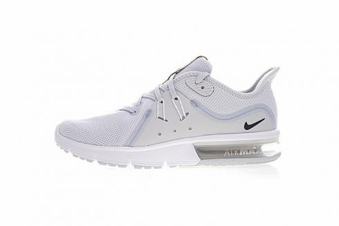 elegant shoes order online website for discount Nike Air Max Sequent 3 Running Shoes Light Grey 921694-008