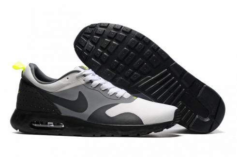Nike Air Max Tavas Black Dark Grey Total Crimson Men Shoes