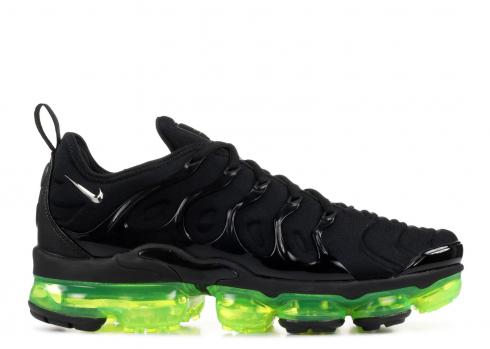 vapormax plus black green