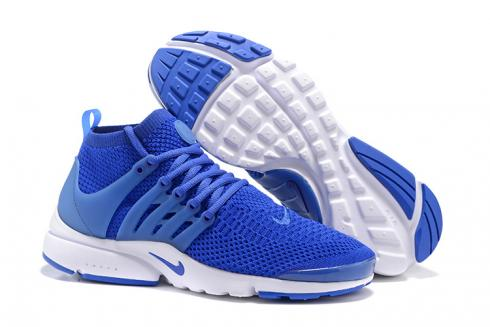 buy new cheap low price sale Nike Air Presto Flyknit Ultra Racer Blue White Men Women Shoes Sneakers  835570-400