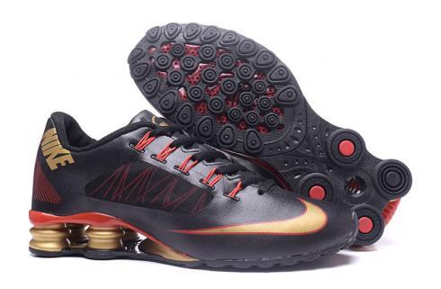 buy popular top design various styles Nike Air Shox 808 Running Shoes Men Black Gold