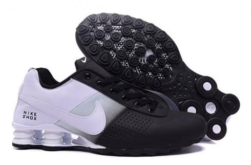 nike shox deliver men shoes fade black white grey casual