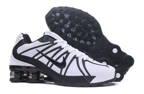 chaussures de sport 26221 6ddd2 Nike Air Shox OZ TPU Men Running shoes Black White
