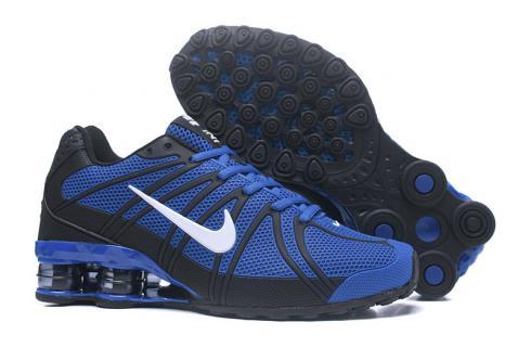 check-out 225b2 c6dd9 Nike Air Shox OZ TPU Men Running shoes Royal Blue Black White