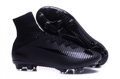 Moretón la seguridad dialecto  Nike Mercurial Superfly V FG ACC Men Football Shoes Soccers All Black -  Sepsale