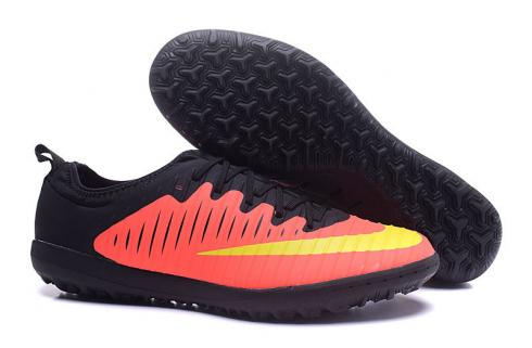 Nike Mercurial Superfly TF Low Football Shoes Soccers Total Crimson Volt Pink