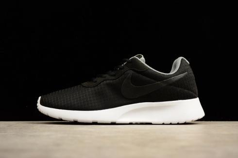 Nike Tanjun Premium Shoes Black White Light Bone New In Box 876899 001