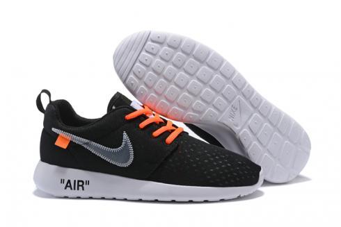 buona volontà questionario Monetario  Off White Nike Roshe One BR Running Shoes Black Orange 718552 - Sepsale