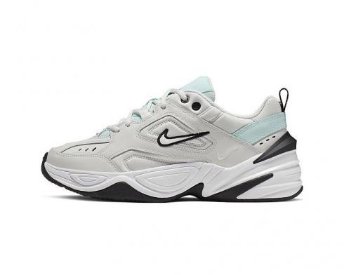 Nike M2K Tekno Platinum Tint Wolf Grey Summit White Celery ...