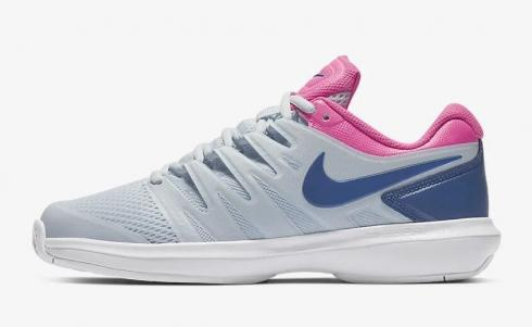 NikeCourt Air Zoom Prestige Half Blue Pink Blast White Indigo Force AA8024-446