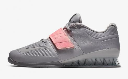 Nike Romaleos 3 XD Pink Tint Gunsmoke