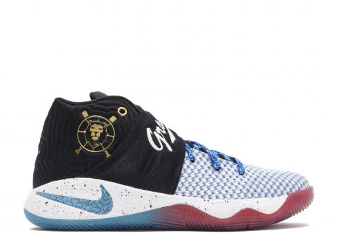 Nike Kyrie 2 Db GS Doernbecher Blue Omega Black Gold Metallic 898642-001