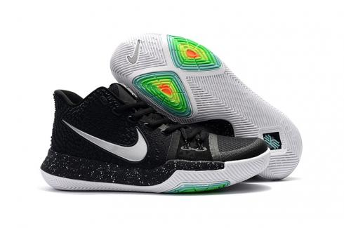 hot sale online 0347f 30c24 Nike Zoom Kyrie 3 EP Black White Unisex Basketball Shoes