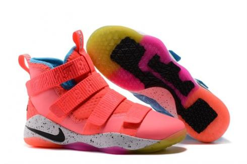 buy popular 95ece 1d649 Nike Zoom Lebron Soldier XI 11 What The Pink Blue 897644-903